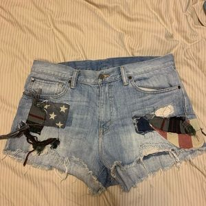 Ralph Lauren cut off shorts 31